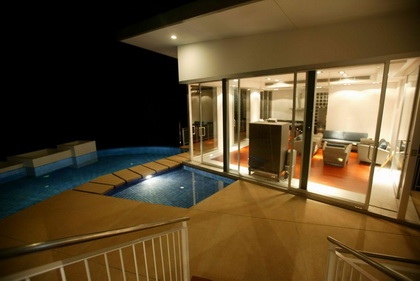 Luxury Villas have facilities such as private swimming pools to enjoy.