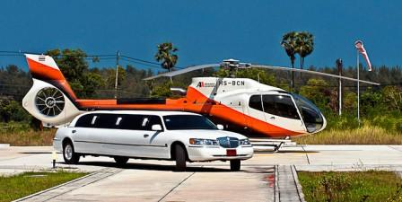 Stretch limos for corporate events and meetings.