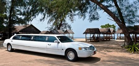 Imagine arriving at your wedding destination in Phuket in style  in a stretch limo.