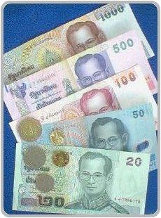 Thailand Currency - Thai Baht