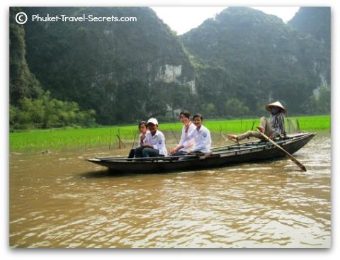 Tam Coc in Vietnam