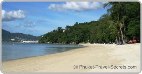 Views of Patong from the picturesque Tri Tra Beach