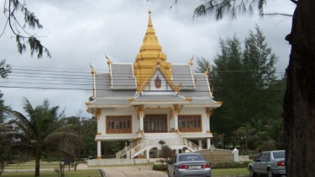 Wat Surin is located just back from Surin Beach.
