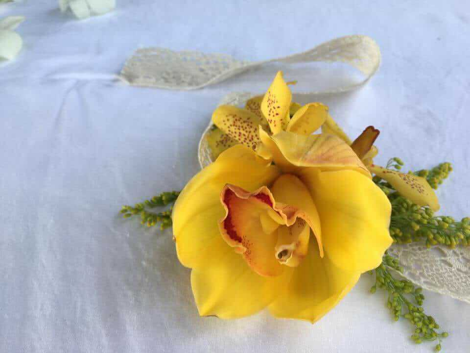 Yellow Corsage