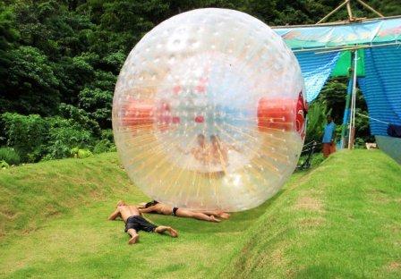 Zorb Balling in Phuket